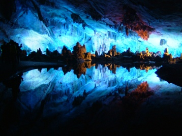 Reed Flute Cave-Guilin, China