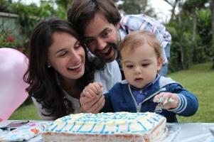 Primer cumpleaños de Simón