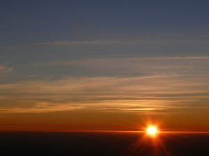 Sunset from Table Mountain-Cape Town, South Africa