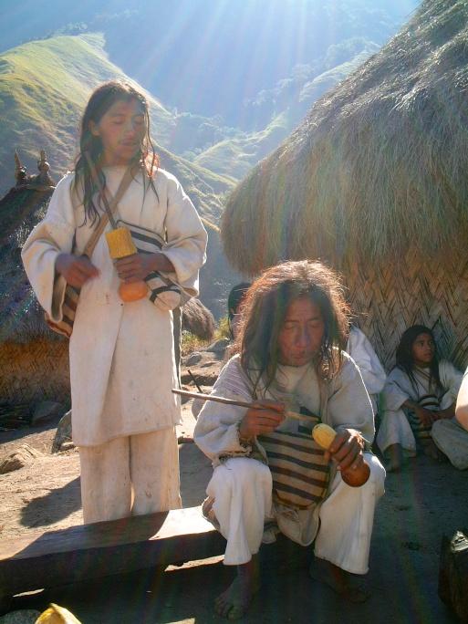 Kogi tribe-Sierra Nevada de Santa Marta-Colombia