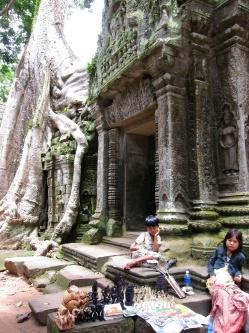 Angkor's temple-Siam Reap, Cambodia
