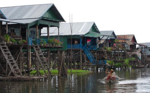 Tonle Sap lake-Cambodia