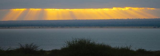 Dawn on Lake Burunge