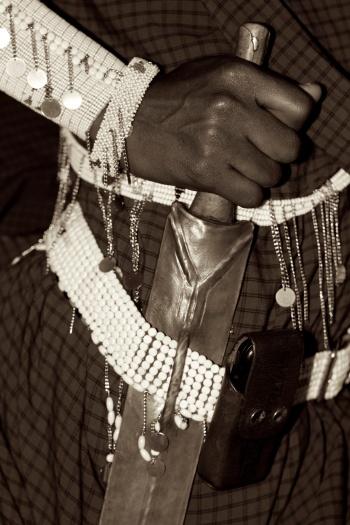Maasai warrior-West Kilimanjaro