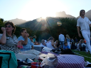 Jazz concert a Kirstenbosch botanical garden-Cape Town, South Africa