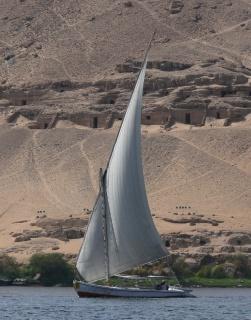 Felucca-Aswan, Egypt
