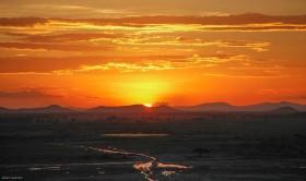 sunset-amboseli