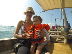 Sailing in the Indian Ocean