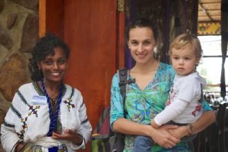 En un restaurante etíope