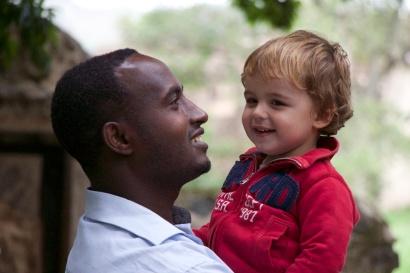 Con mi guía etíope