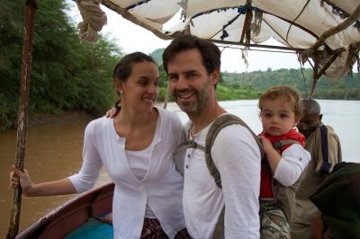 Cruzando el Nilo Azul