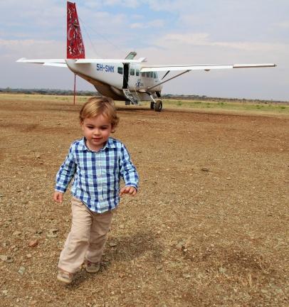 De safari en el Serengeti