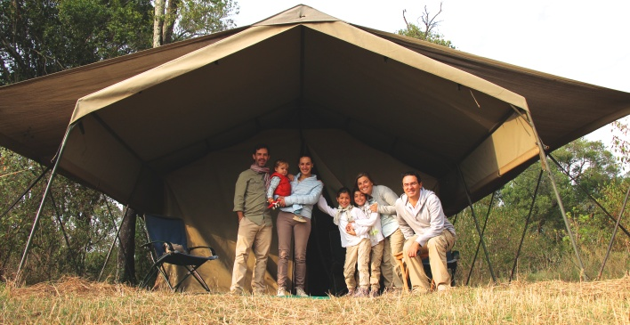 Nuestro tented camp en Kogatende, Serengeti