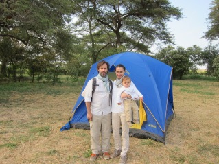Simón de camping