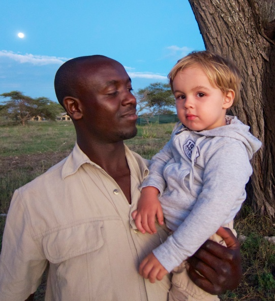 Con kaka Malisa en Namiri Plains-Serengeti