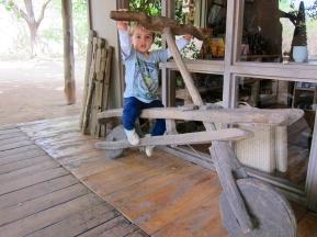 Simón en Tree Lodge