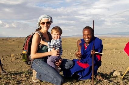 Simón en Maasai Land