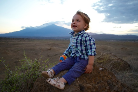 Atardecer en Mount Meru