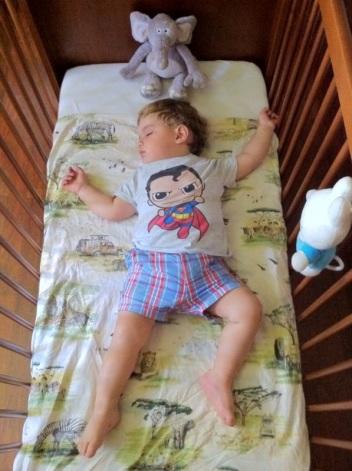 Simón durmiendo